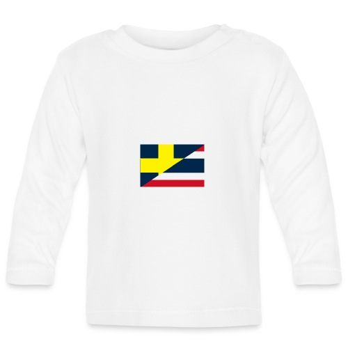 Sverige Thailand - Långärmad T-shirt baby