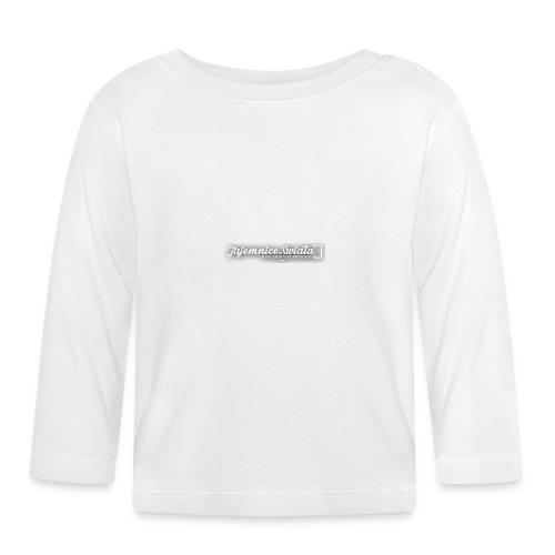 logo_TS - Koszulka niemowlęca z długim rękawem