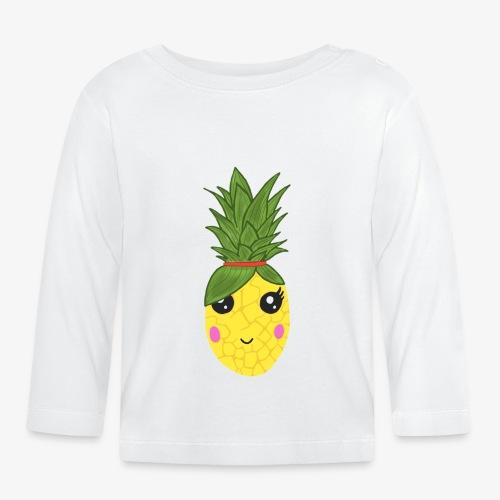 Pineapple Kawaii - T-shirt manches longues Bébé
