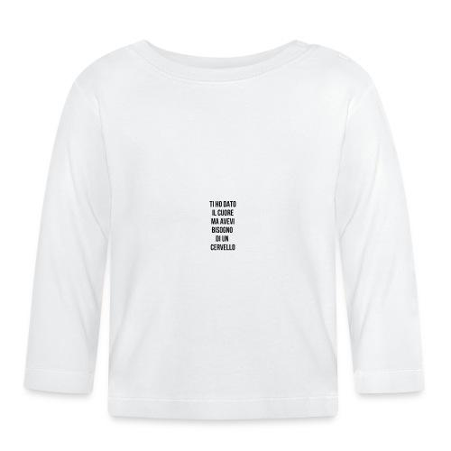 frasi fatte citazioni - Maglietta a manica lunga per bambini