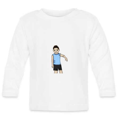 OfirGaming HD logo - Baby Long Sleeve T-Shirt