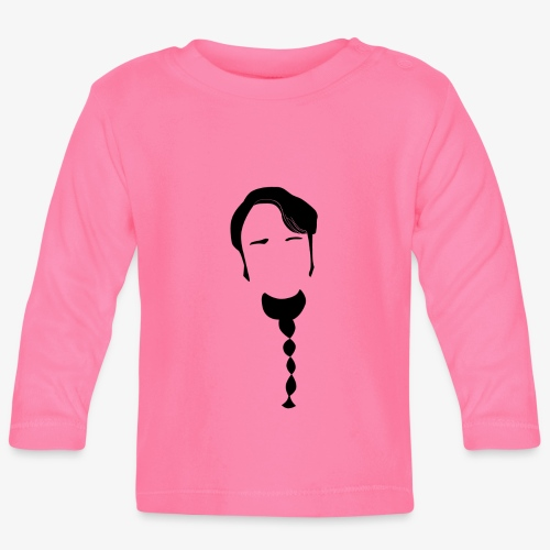 Leo - Langarmet baby-T-skjorte