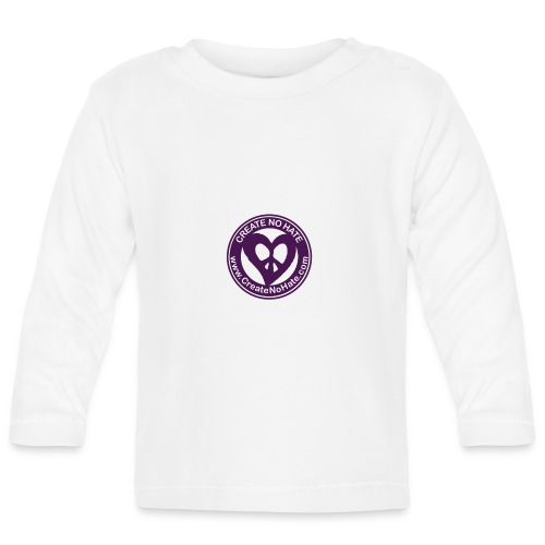 CreateNoHate Original Phone Cases - Baby Long Sleeve T-Shirt