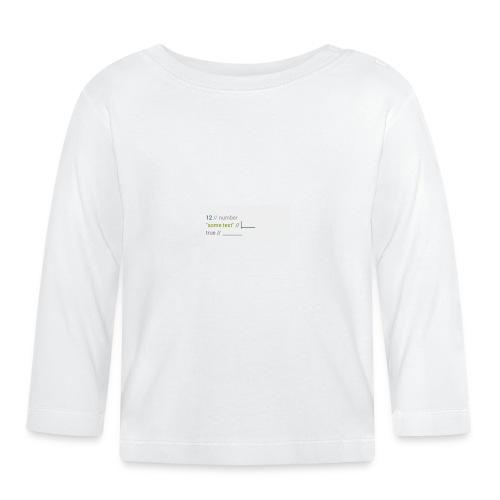 code - T-shirt manches longues Bébé
