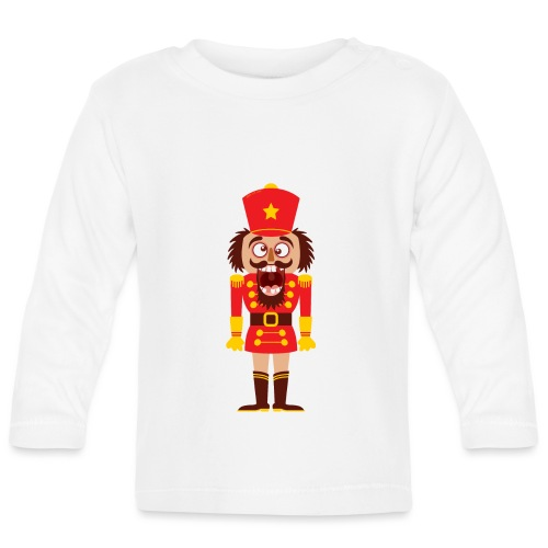 A Christmas nutcracker is a tooth cracker - Baby Long Sleeve T-Shirt
