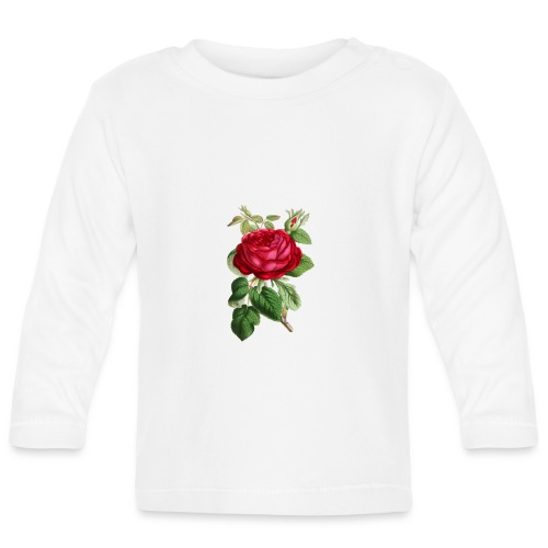 Fin ros - Långärmad T-shirt baby