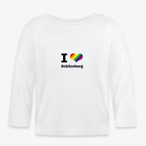 I love Schöneberg - Baby Langarmshirt