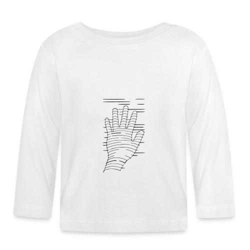 Eigene Hand - Baby Langarmshirt
