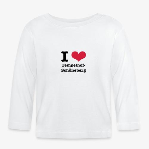 I love Tempelhof-Schöneberg - Baby Langarmshirt
