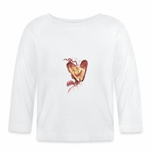 Golden Shell Heart / Cuore Conchiglia con Oro - Maglietta a manica lunga per bambini