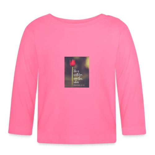 IMG 20180308 WA0027 - Baby Long Sleeve T-Shirt