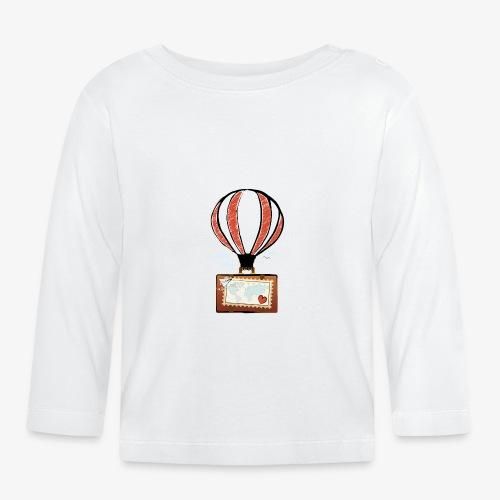 CUORE VIAGGIATORE Gadget per chi ama viaggiare - Maglietta a manica lunga per bambini