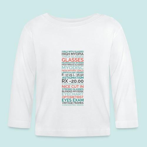 Myopia Poster - T-shirt manches longues Bébé