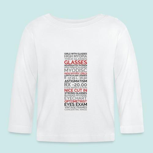 Myopia Poster 2 - T-shirt manches longues Bébé