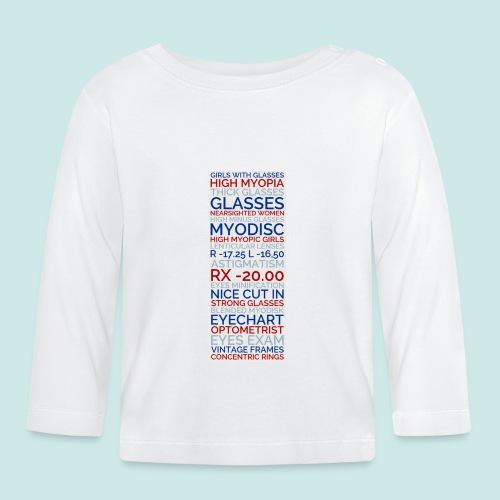 Myopia Poster 3 - T-shirt manches longues Bébé