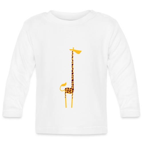 Stretch Giraffe - Baby Long Sleeve T-Shirt