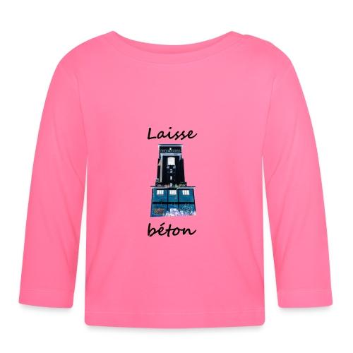 laisse_b--ton-png - T-shirt manches longues Bébé