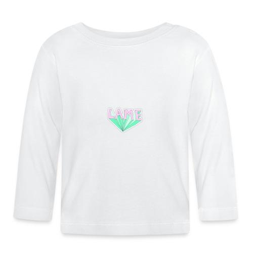 LAME tshirt - Langærmet babyshirt