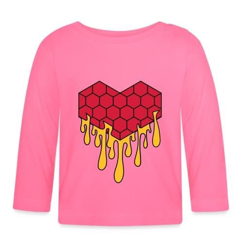 Honey heart cuore miele radeo - Maglietta a manica lunga per bambini