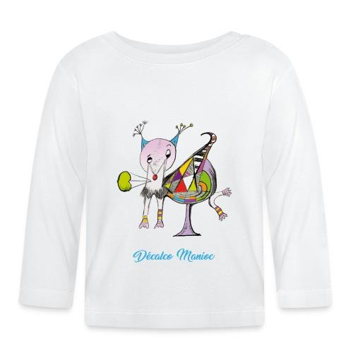 Décalco Manioc - T-shirt manches longues Bébé