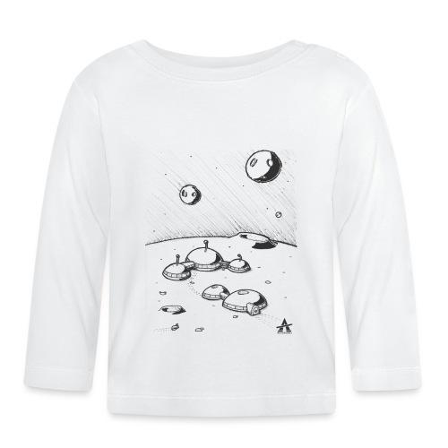Moonbase Sketch ligne - T-shirt manches longues Bébé