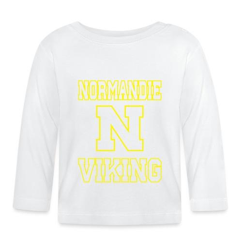 Normandie Viking Def jaune - T-shirt manches longues Bébé