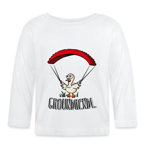 Groundhendl Paragliding Huhn - Baby Langarmshirt