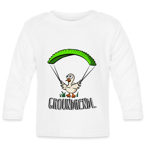 Groundhendl Groundhandling Hendl - Baby Langarmshirt