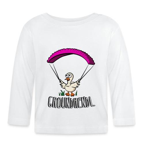 Groundhendl Groundhandling Hendl Paragliding Huhn - Baby Langarmshirt