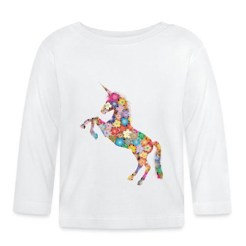 unicorn 3348780 - Maglietta a manica lunga per bambini