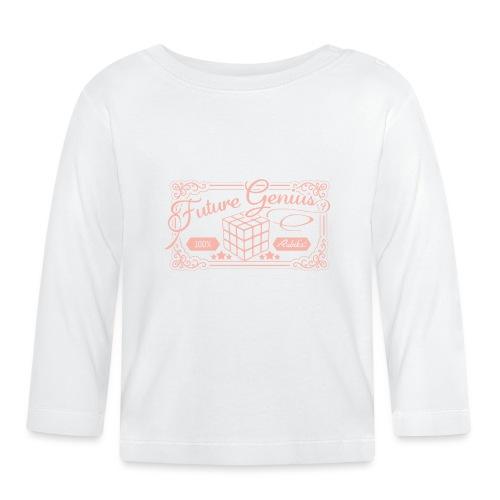 Rubik's Cube Future Genius - Baby Long Sleeve T-Shirt