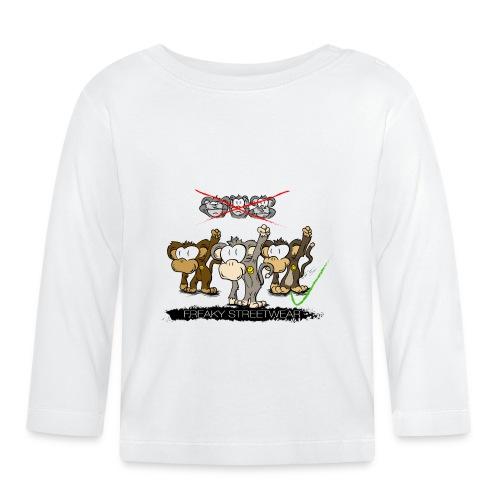 Protest-Äffchen 2 - Baby Langarmshirt
