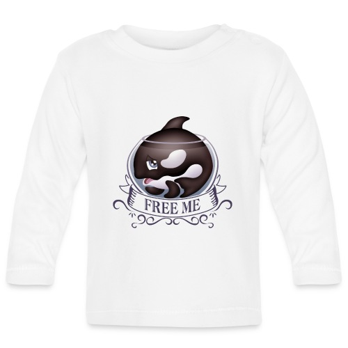 Free me - T-shirt manches longues Bébé