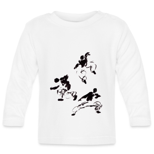 3 kungfu - Baby Long Sleeve T-Shirt