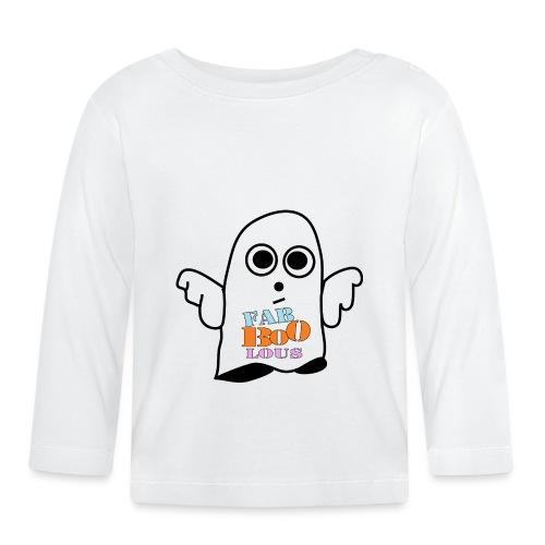 Halloween Geist BOO - Baby Langarmshirt
