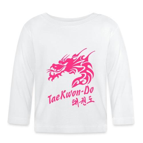 Taekwondo Dragon - Baby Long Sleeve T-Shirt
