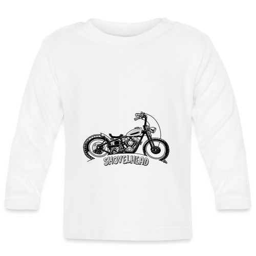 0917 chopper shovelhead - T-shirt