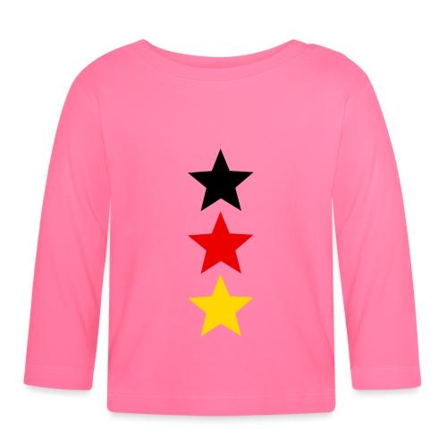 3 Sterne Deutschland #1 - Baby Langarmshirt