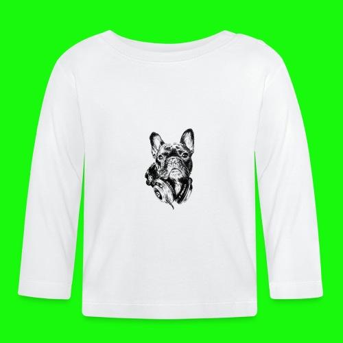 Small_Dog-_-_Bryst_- - Langærmet babyshirt
