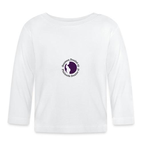 Suomen Doulat ry logo - Vauvan pitkähihainen paita