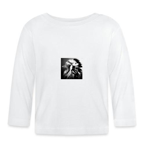 piniaindiana - Koszulka niemowlęca z długim rękawem