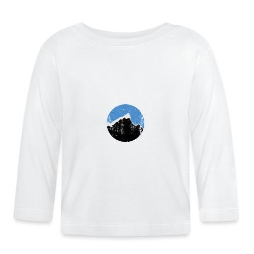Årgangs - Langarmet baby-T-skjorte