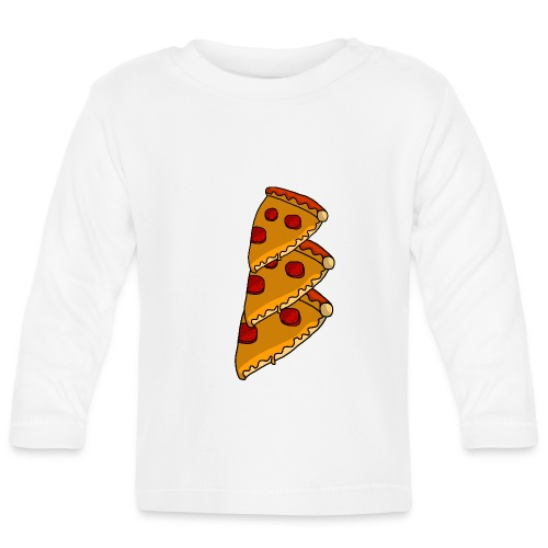 pizza - Langærmet babyshirt