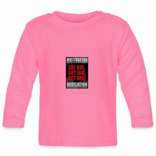 Motivation gym - Långärmad T-shirt baby