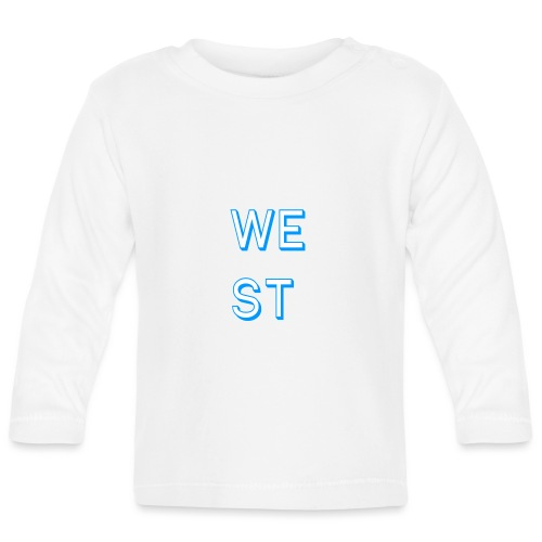 WEST LOGO - Maglietta a manica lunga per bambini