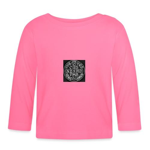 Protection St Benoit (petite) . 圣本笃的保护 - T-shirt manches longues Bébé