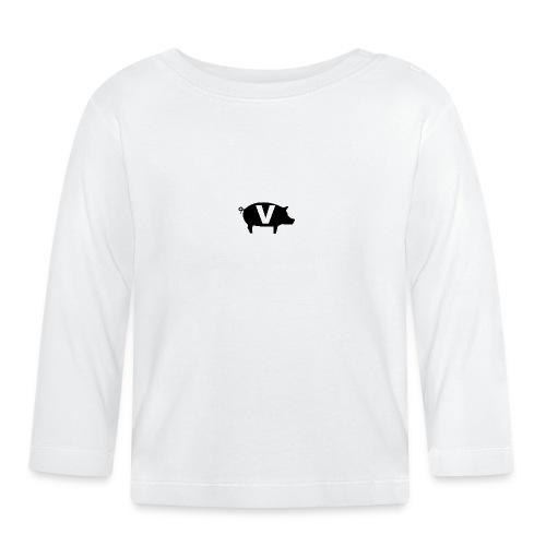 Viand-white-logo - T-shirt manches longues Bébé