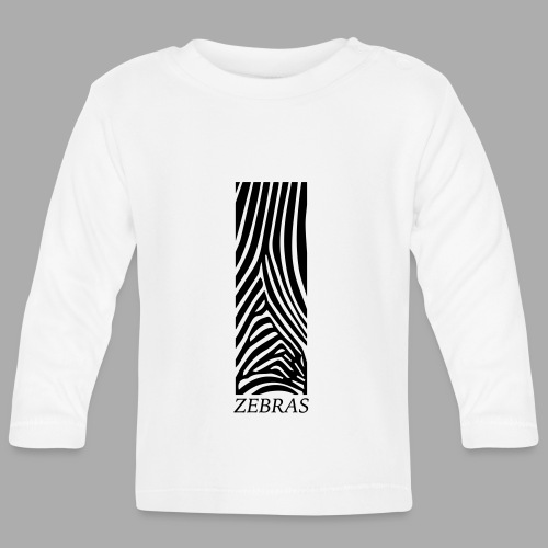 zebras - Baby Long Sleeve T-Shirt