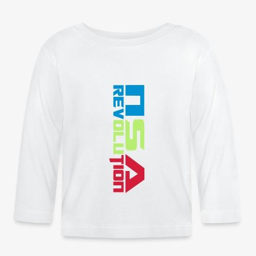 nsa revolution - T-shirt manches longues Bébé