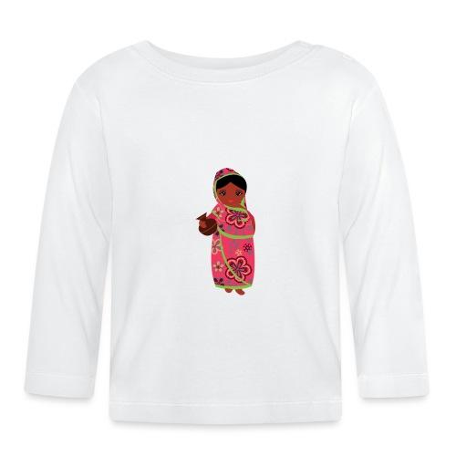 Lovedesh Art - Ira Kolshi Doll - Baby Long Sleeve T-Shirt